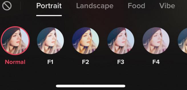 tiktok filters